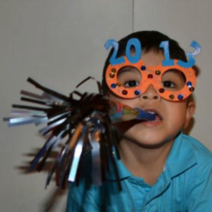New Years glasses