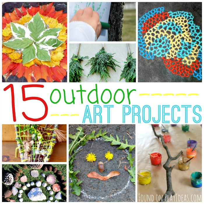 Outdoor Art Projects Blog Image