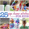 25 Easy DIY Pipe Cleaner Activities for Kids