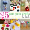 25 Delightful Pom Pom Crafts For Kids