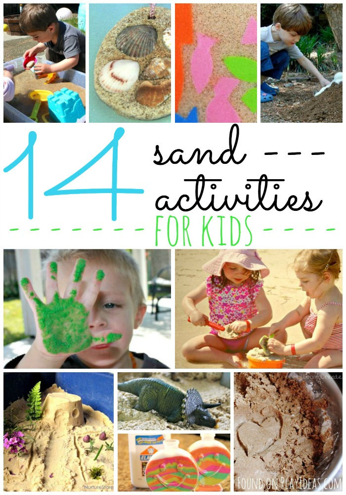 Sand Activities Pinnable
