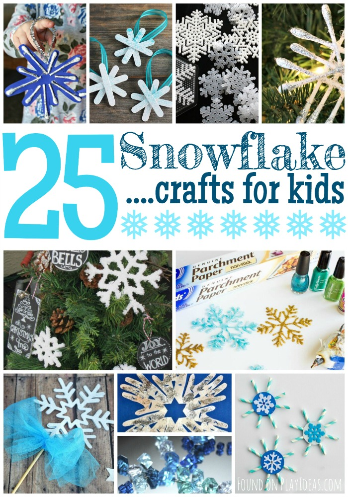 Snowflake Crafts Pinnable