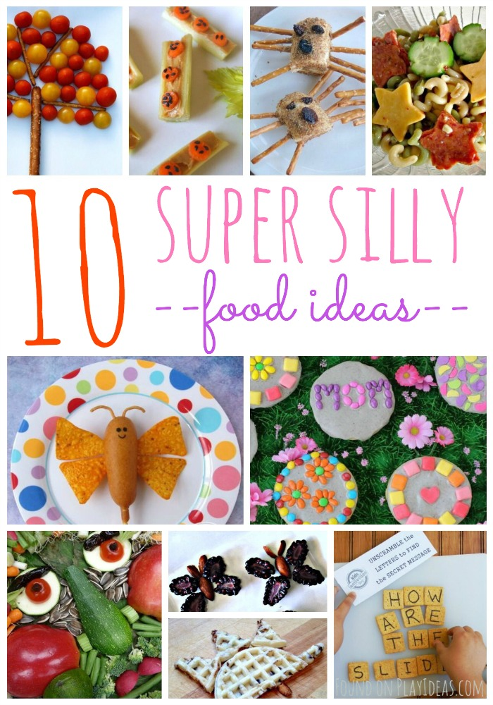 Kids of all ages will surely love this 10 super silly food ideas!