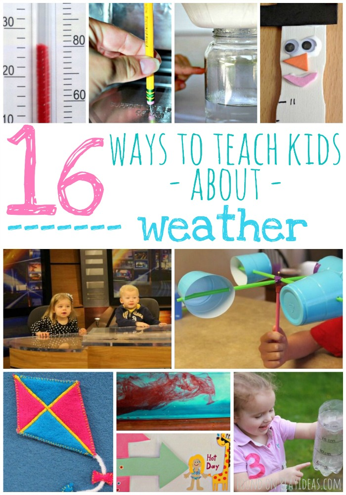 Teach Kids About Weather Pinnable