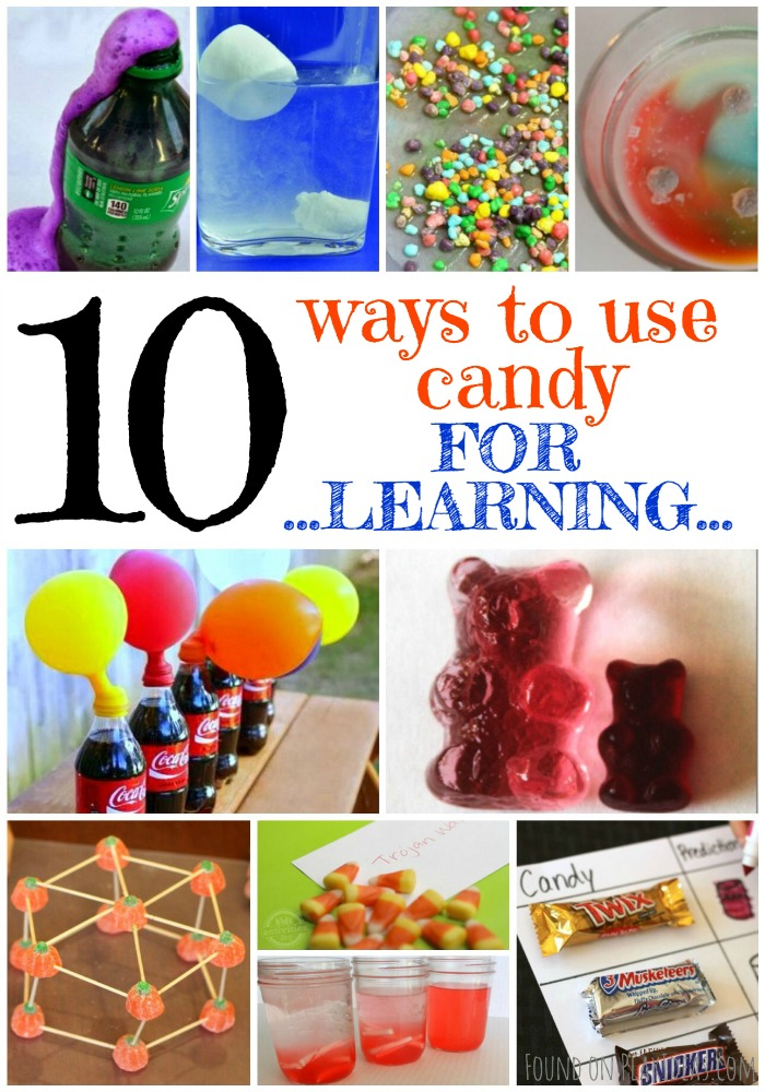 Enjoy fun more ways to use candy for learning!
