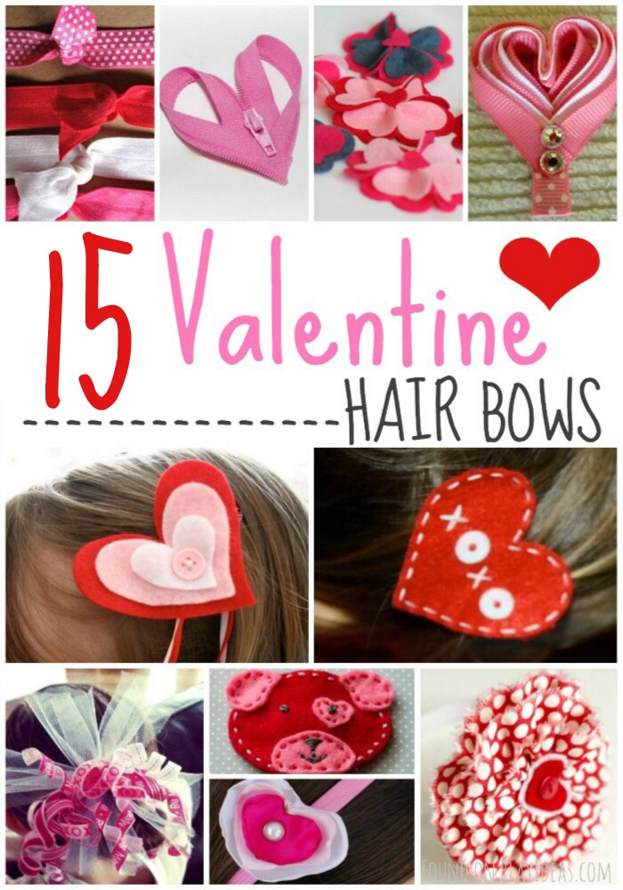 Valentine Bows Pinnable