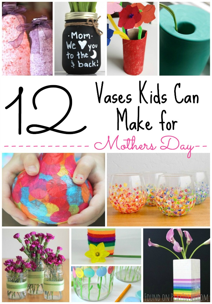 Vases Kids Can Make Pinnable