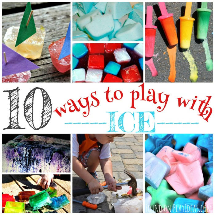 Ways to Play with Ice Blog Image