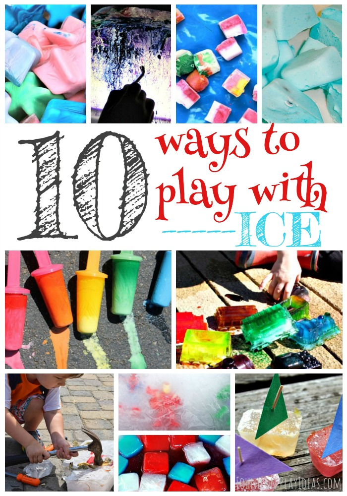 Ways to Play with Ice Pinnable