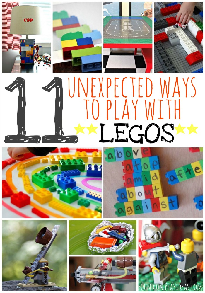 Ways to Play with Legos Pinnable