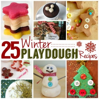 Winter Playdough Blog Image