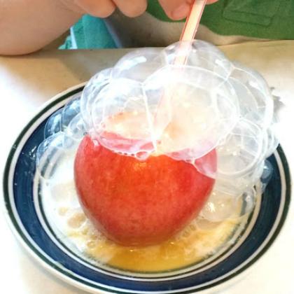 bubble apples