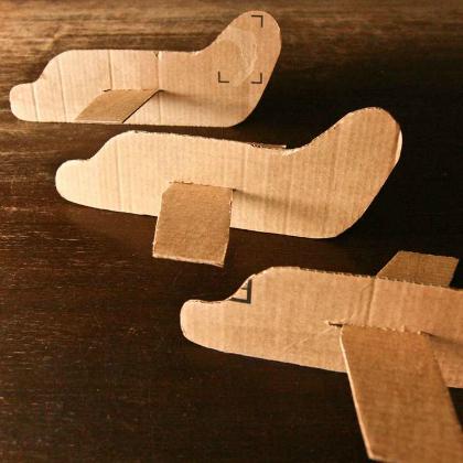 corrugated box planes