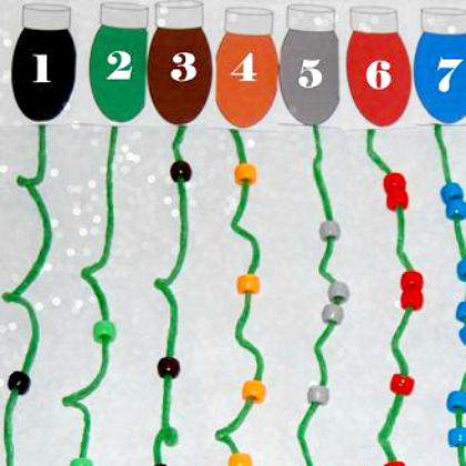 counting Christmas lights