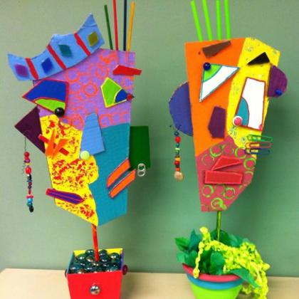craft supply sculptures