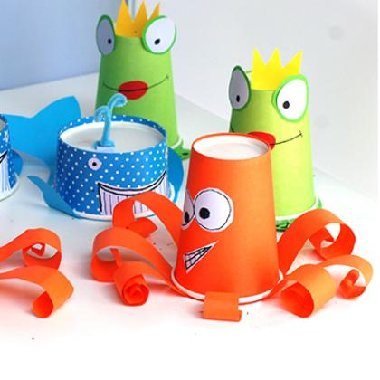 cup sea creatures