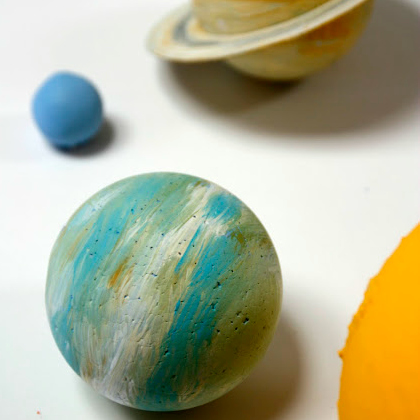 easy kid made planets