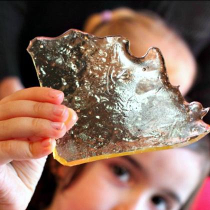 edible glass