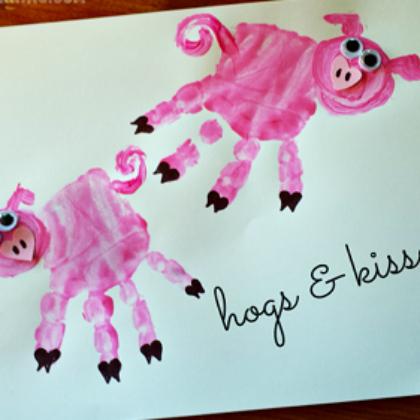 handprint pigs