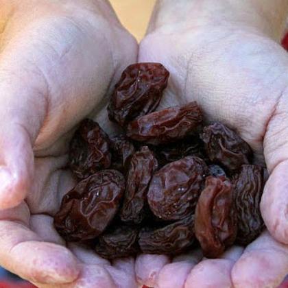 making raisins