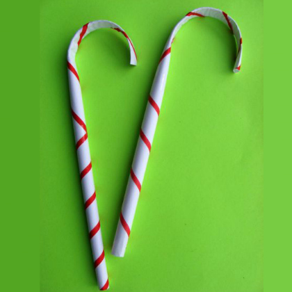 paper candy canes