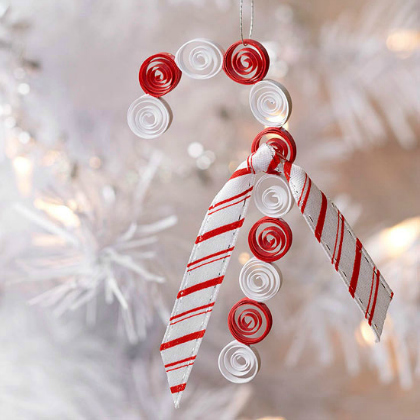 paper scroll candy canes