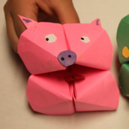 pig cootie catcher
