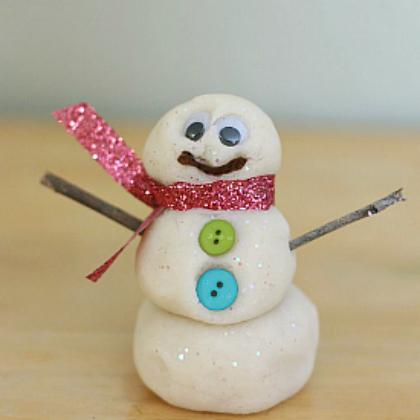 snowman dough