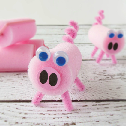 sponge roller pig