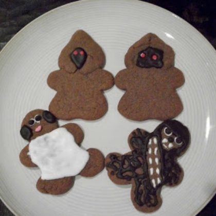 star wars gingerbread men