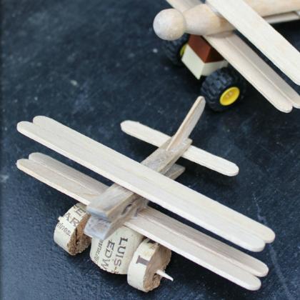 stick biplane