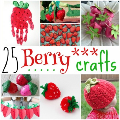 25 Super Sweet Berry Crafts For Kids