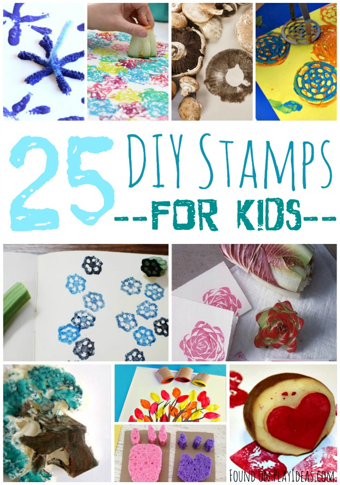 DIY Stamps Pinnable