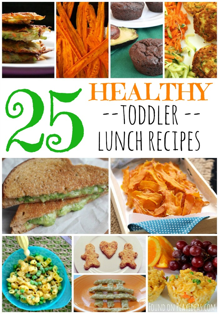 Healthy Toddler Lunch Pinnable