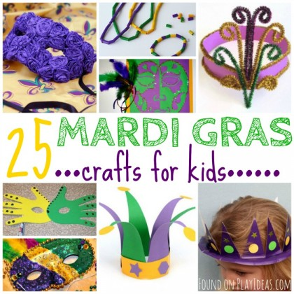 25 Bon Temps Mardi Gras Crafts For Kids