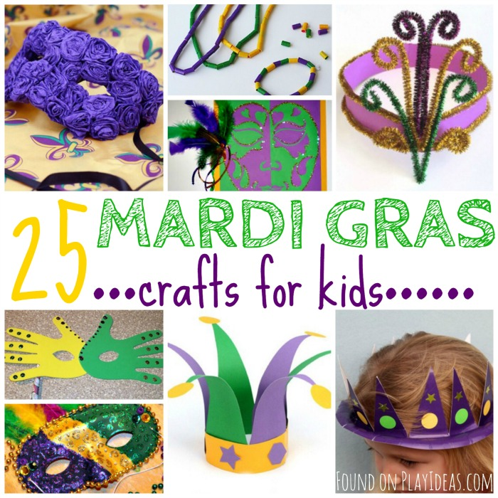 Amazing Mardi Gras Kids Crafts Part - 7: Play Ideas