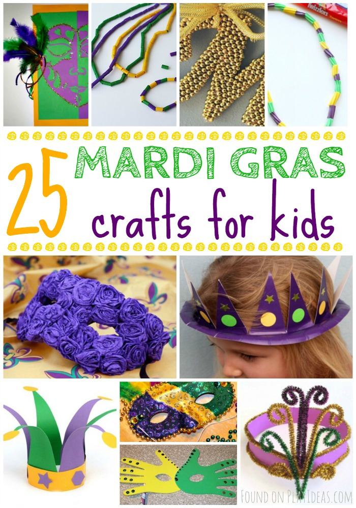 Mardi Gras Kids Crafts Part - 31: Mardi Gras Pinnable