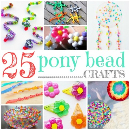 25 Brilliant Pony Bead Crafts For Kids