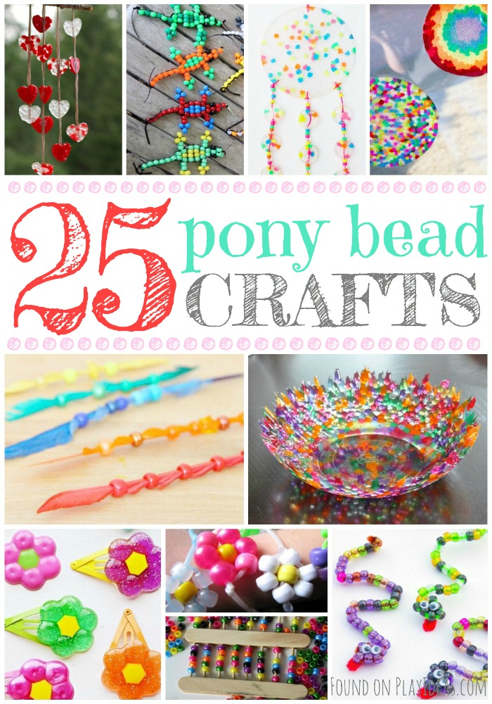 Pony Bead Crafts Pinnable