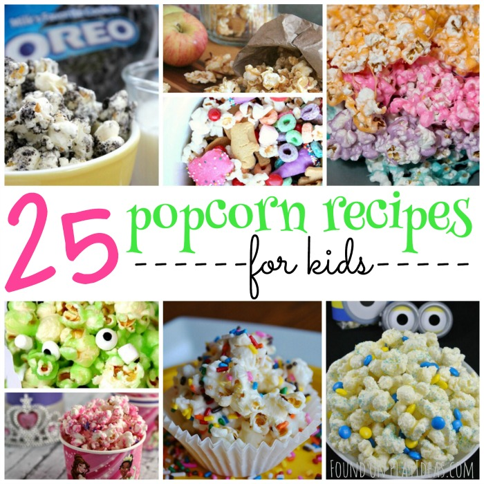 25 Yumtastic Popcorn Recipes For Kids