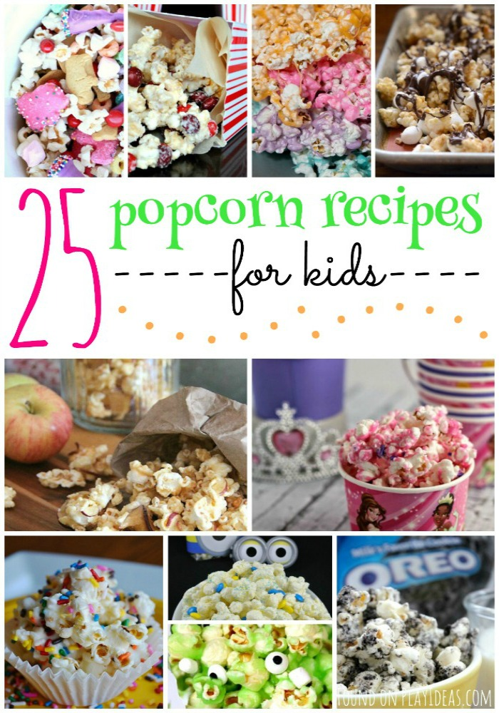 Popcorn Recipes Pinnable
