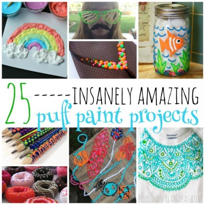 25 Insanely Amazing Puff Paint Projects For Kids
