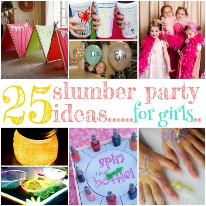 25 Giggle-Inducing Slumber Party Ideas For Girls