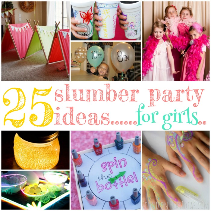 Slumber Party Ideas Blog Image