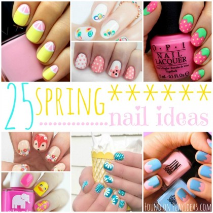 25 Gorgeous Spring Nail Ideas