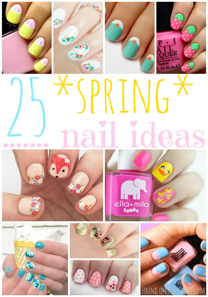 Spring Nails Pinnable