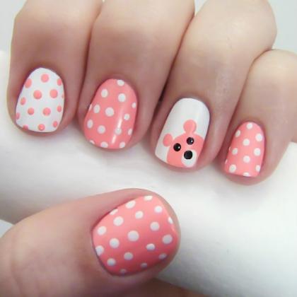 bear polka dot