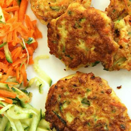 carrot veggie puffs