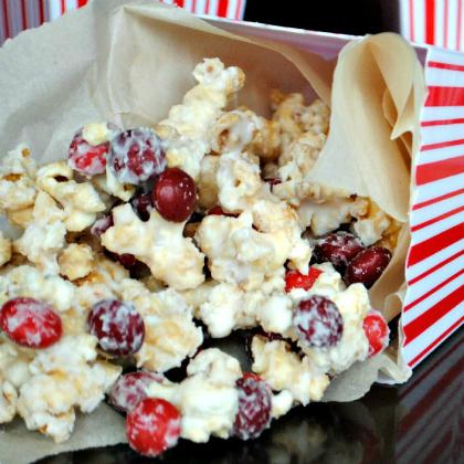cherry vanilla caramel popcorn