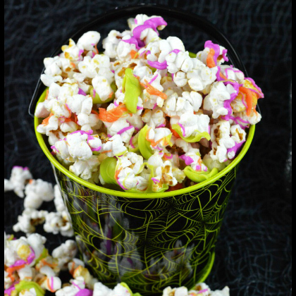 neon chocolate kettle corn